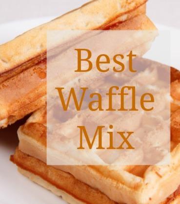 best Belgian Waffle Mix