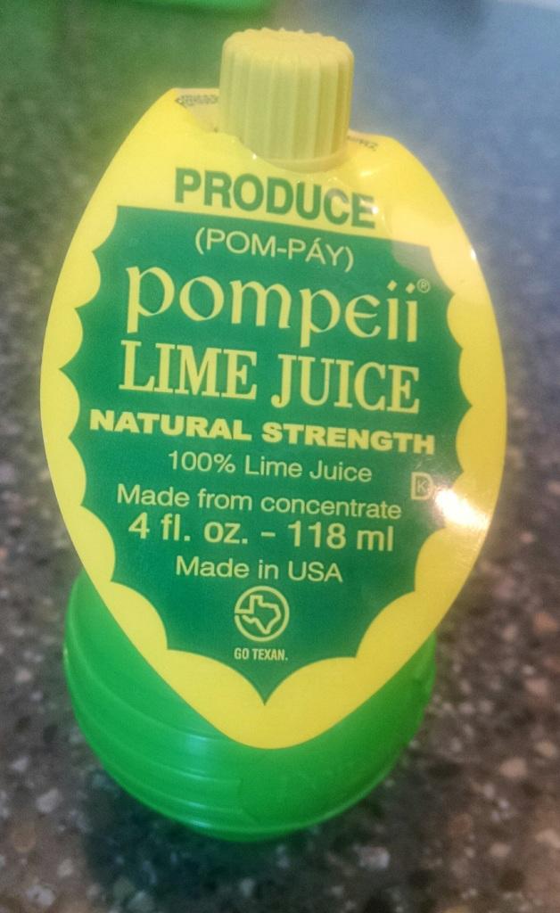 pompeii lime juice