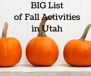 Fall and Halloween Events in Utah