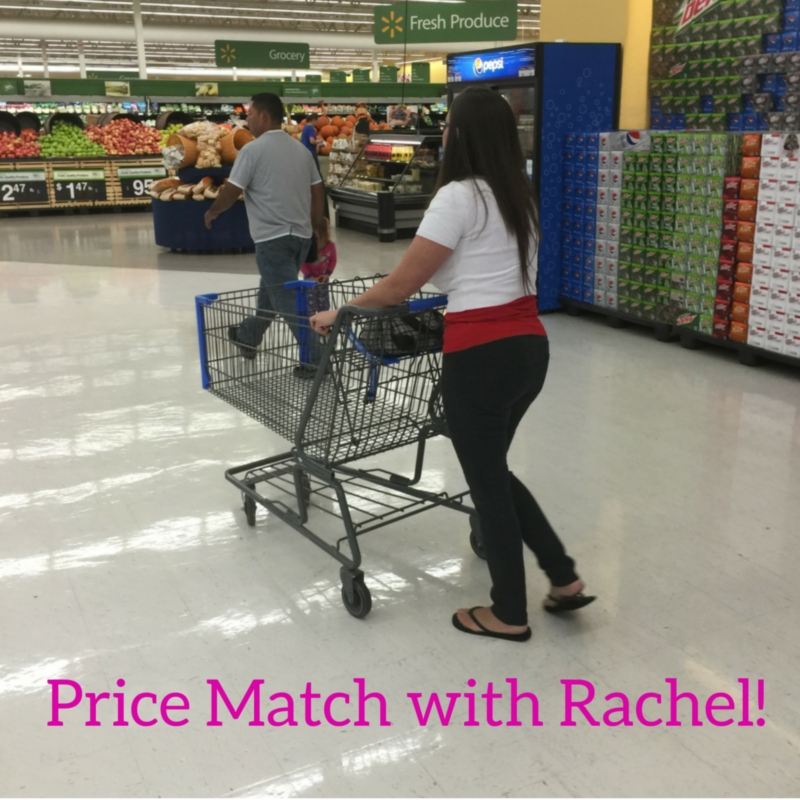 Save money on groceries - Price Match with Rachel!